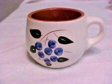 Stangl Pottery Blueberry Coffee Cup/Mug Trenton NJ