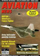 Aviation News 2005 January Su-39,Dishforth Apache,Domodedovo,GAL
