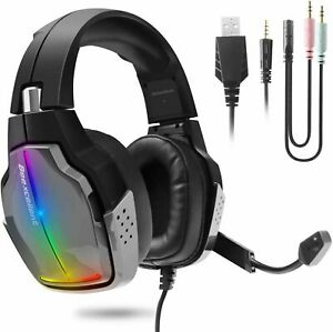 Beexcellent Pro Gaming Headset GM-8 PS4 Xbox One PC Controller Surround Sound