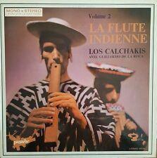 Los Calchakis avec Guillermo De La Roca - La Flûte Indienne Vol. 2  Vinyl LP 33T