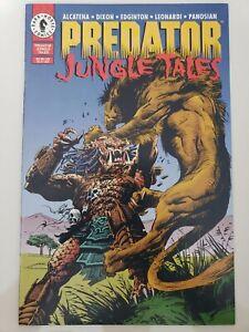 PREDATOR: JUNGLE TALES #1 ONE-SHOT (1995) DARK HORSE COMICS DIXON! LEONARDI!