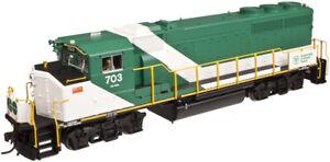 ATLAS  HO SCALE GO TRANSIT GP40-2(W) 10001421 ROAD # 706 DCC & SOUND