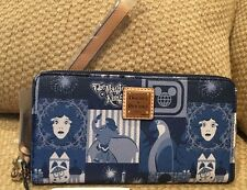 NWT DOONEY & BOURKE DISNEY 45TH ANNIVERSARY WRISTLET WALLET DUMBO SMALL WORLD LE