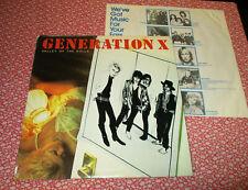 Generation X Valley of the Dolls Lp (1979) original Punk Billy Idol