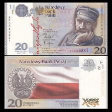 Poland 2018 Banknote Independence Jozef Pilsudski 20 zloty