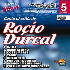 Karaoke Latin Stars 05 Rocio Durcal Vol.1