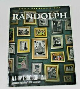 Randolph College Magazine April 2016 Vol. 7 No. 2 125th Anniversary Issue
