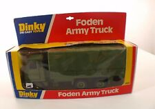 Dinky toys GB n° 668 FODEN Army Truck camion militaire neuf en boite mint