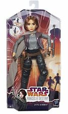 """Star Wars Forces of Destiny Jyn Erso 11"""" Action Figure Doll New sealed Fast P&P"""