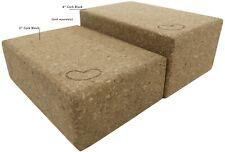 Cork Yoga Blocks 2-Pack - 3