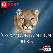 mountain lion 10.8.5 mac os x usb installer bootable macbook air pro imac osxfix