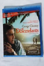 The Descendants Geore Clooney Blu-Ray DVD SUPERB Neuf LIVRAISON GRATUITE