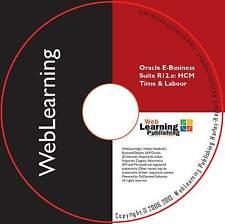 Oracle EBS R12.x: HCM/HRMS tiempo y guía de capacitación laboral autoaprendizaje