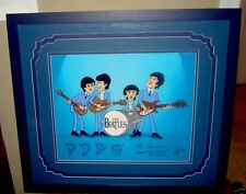 Beatles Cartoons Cel Color Model Proof  Rare Animation cell Signed Ron Campbell