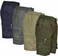 Cotton Blend Loose Fit Big & Tall Shorts for Men