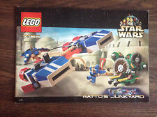 lego Star Wars 7186 Watto's Junkyard Manual Instruction Rare Retired ONLY