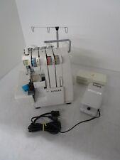 Singer Serger Sewing Machine Overlocker Model 14U52A with Accessories Box