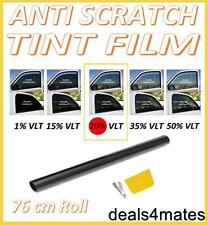 ANTIGRAFFIO PROFESSIONAL CAR WINDOW TINT film fumo scuro NERO 20% 76 cm x 3 m