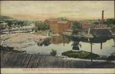 Hoosick Falls NY Walter Wood Mowing & Reaping Machines Factory Postcard