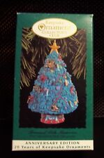Hallmark Collector Club 20th Anniversary Edition Trimmed with Memories Ornament