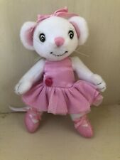 Angelina Ballerina Books Small Plush Mouse W/Pink Tutu 2005 Excellent Condition!
