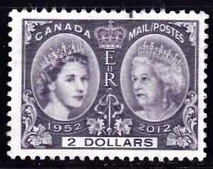CANADA #2540 USED UNHINGED $2. QUEEN ELIZABETH II DIAMOND JUBILEE