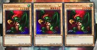 3x Papageidrache LCKC-DE096 ULTRA RARE 1.Auflage DEUTSCH PLAYSET NM Yu-Gi-Oh
