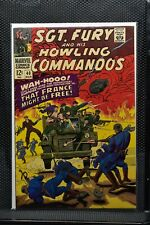 Sgt Fury and His Howling Commandos #40 Marvel Silver Age Comic 1967 Stan Lee 9.0