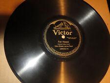78RPM Victor Edna Brown + J Reed, Fair Hawaii / Raymond Dixon, Sang Aloha V+E-V+