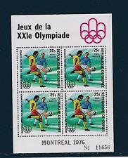 Guinée république  bloc  JO  Montréal   football  1976  num : 33  **