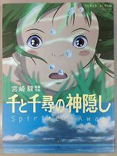 Spirited Away Roman Album / illustrations art design works Japanese book