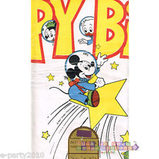 MICKEY MOUSE Adventures in Birthdayland PAPER TABLE COVER ~ Party Supplies Cloth