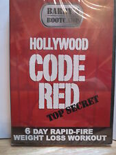 Barry's Bootcamp HOLLYWOOD CODE RED (DVD, 2008) Exercise