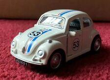 1:38 VW Volkswagen Bug Beetle Herbie Replica Pull Back Diecast FREE SHIPPING!!