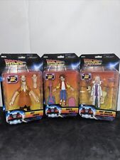 NECA Toony Classic Back to the Future Marty Doc Biff complete action figure set