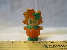 Fisher Price Little People Halloween Sofie Pumpkin Trick treat dress up costume