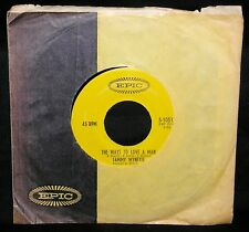 TAMMY WYNETTE - THE WAYS TO LOVE A MAN - '69 CLASSIC/ U.S. PRESS/EPIC 10512/EX