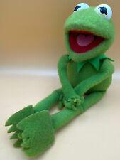 "Kermit the Frog Muppets Sesame Street Vintage 1985 Hasbro Softies 17"" Plush"