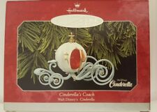 1998 Hallmark Keepsake Ornament Disney Cinderella's Coach NIB NEW IN BOX