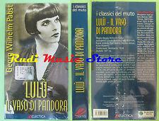 film VHS cartonata LULU'IL VASO DI PANDORA Wilhelm Pabst SIGILLATA (F27) no dvd