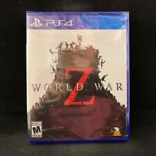 World War Z The Game (PS4 / PlayStation 4) BRAND NEW / Region Free
