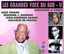 E. A CESAIRE/M.J. MAUNICK/L.G. DAMAS DE CHAZAL - INSULARITE AND POESIE: GRANDES