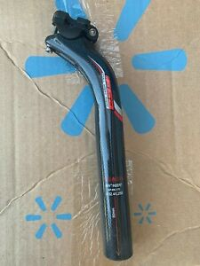 FSA K-Force Lite Bicycle Seatpost 32.4 x 250mm Carbon Fiber Setback NICE