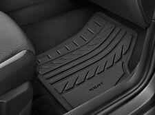 Original SEAT Gummi Matten Fußmatten Set Satz schwarz Ibiza Mj 2018, Arona