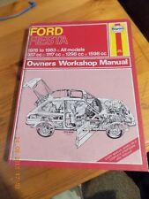 1976-1983 Ford Fiesta ( All Models) Haynes Service Manual