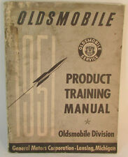 Original 51 Olds Product Training Manual 49 50 52 Service OEM GM Information