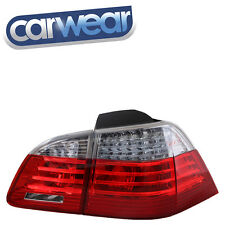 DEPO M5 STYLE BMW E61 5-SERIES 05-08 WAGON CLEAR RED LED TAIL LIGHTS