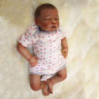 "1pcs Lifelike Newborn 20"" Reborn Baby Boy Doll Soft Vinyl Silicone Birthday Gift"