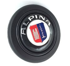 Alpina BMW steering wheel horn push button. Fits Momo Sparco OMP Italvolanti etc