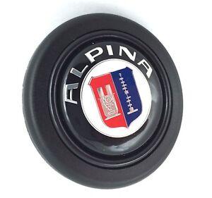 Alpina BMW steering wheel horn push button. Fits Momo Sparco OMP Italvolanti etc